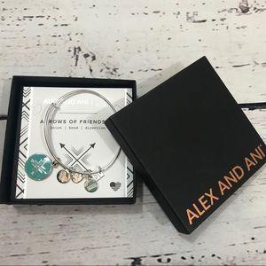 ALEX AND ANI NIB arrows of friendship bracelet